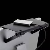 螢幕架液晶顯示器置物架電視機頂盒支架電腦屏幕收納支架多功能置物神器【快速出貨八折下殺】