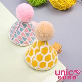 UNICO 兒童 超可愛俏皮立體生日帽髮夾/邊夾/髮飾-2入組