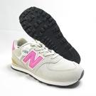 New Balance 復古鞋 中大童鞋 寬楦 休閒鞋 公司貨 GC574ME2 灰x粉【iSport愛運動】