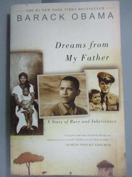 【書寶二手書T1/原文書_JOH】Dreams From My Father-A Story Of Race And Inheritance