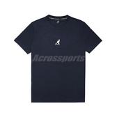 Kangol 短袖T恤 Casual Tee 深藍 米白 男款 袋鼠 短T 運動休閒 【ACS】 6021101180