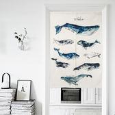 可愛時尚棉麻門簾669 廚房半簾 咖啡簾 窗幔簾 穿杆簾 風水簾 (85cm寬*120cm高)