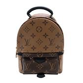 【台中米蘭站】全新品 Louis Vuitton Palm Springs Mini Monogram 雙色款迷你後背包(M44872-咖)