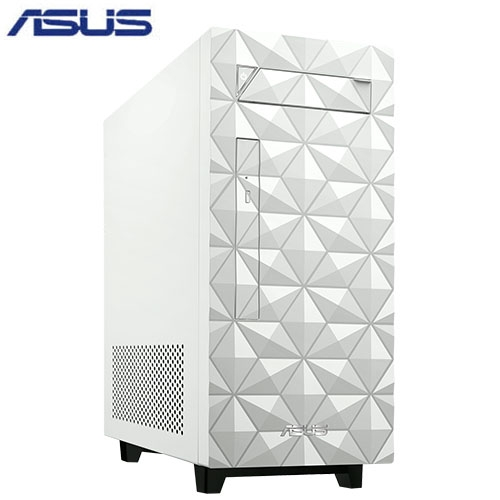 ASUS I5雙碟獨顯主機-菱格白H-S340MF-59400F027T【愛買】