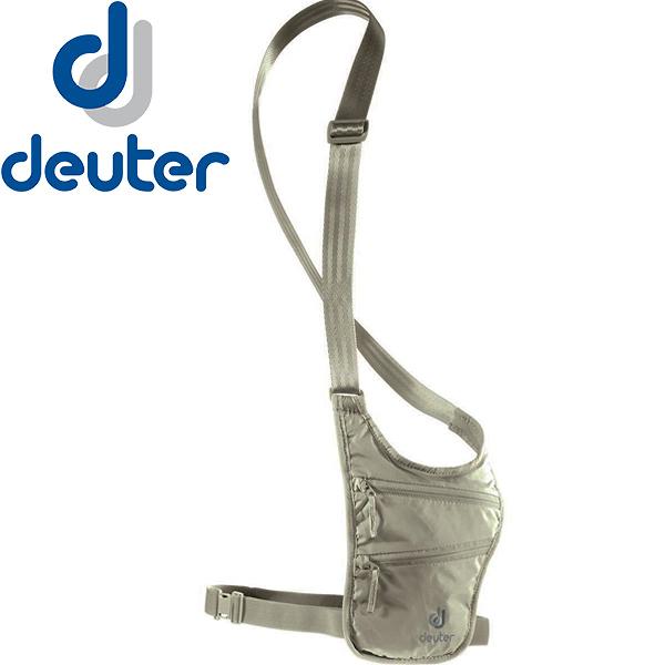 Deuter 3942216-卡其 Security Holster旅行隨身隱藏式小錢包