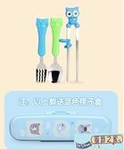 幼兒學習吃飯兒童筷子愛迪生訓練筷寶寶不銹鋼吃飯神器二2段3歲練習家用品牌【風鈴之家】