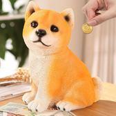 創意可愛兒童存錢罐卡通狗儲蓄罐成人硬幣儲錢罐大號個性生日禮物 QQ3359『樂愛居家館』