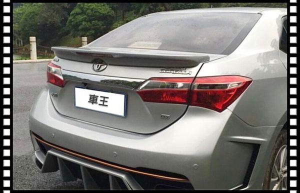 【車王小舖】Toyota 豐田 Altis 11代 LED燈 帶剎車燈 壓尾翼 改裝尾翼 定風翼 導流板 日規