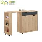 【綠家居】法莉 現代3.6尺多功能餐櫃/收納櫃(二色可選+中島餐桌&餐櫃組合)