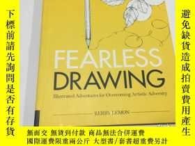 二手書博民逛書店fearless罕見drawing(英文原版)見圖Y3950 見