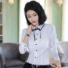 小三衣藏[8Q255-PF]甜美撞色襯衫...
