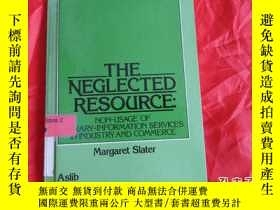 二手書博民逛書店THE罕見NEGLECTED RESOURCE:NON-USAG