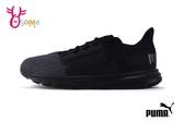 PUMA Enzo Street PS 慢跑鞋 中童 透氣 輕量 運動鞋 J9513#黑色◆OSOME奧森鞋業