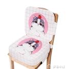 增高坐墊卡通兒童餐椅增高坐墊靠背多功能寶寶吃飯椅墊學生座墊椅加厚加 多色小屋YXS
