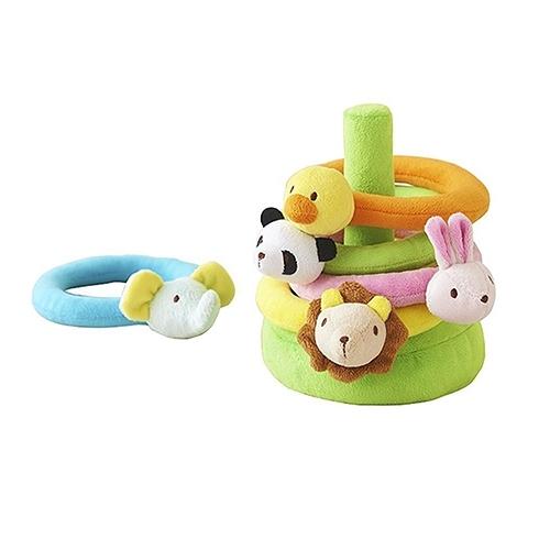 《 日本 Ed.Inter 》動物套圈圈 / JOYBUS玩具百貨