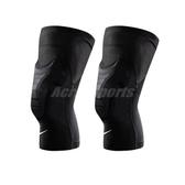 Nike 護膝套 Pro Hyperstrong Padded Knee Sleeves 男女款 膝蓋護套 護具 籃球 跑步 訓練 黑【PUMP306】 NKS03-010