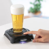 聖誕禮物 聲納啤酒泡打器  (黑)_TA51826