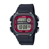 CASIO手錶專賣店 卡西歐 DW-291H-1B 男錶 電子錶 運動風格 防水200米 礦物玻璃 LED燈光 橡膠錶帶