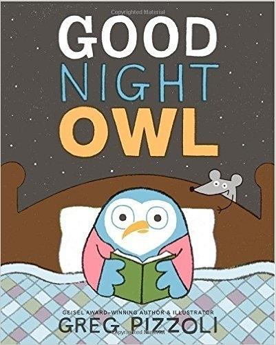 【麥克書店】GOOD NIGHT OWL/英文繪本 《主題:床邊故事》