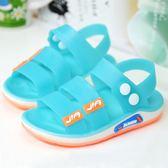 塑料嬰兒寶寶防滑男童女童沙灘鞋潮