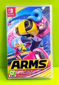 (有中文) 任天堂 Nintendo Switch Arms 神臂鬥 士 (歐版)