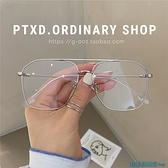 眼鏡框 女韓版潮平光鏡男抗疲勞素顏護眼鏡框可配 快速出貨