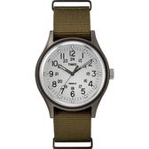 TIMEX 天美時 (TXTW2R37600) 手錶 軍綠/40mm