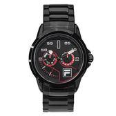 【FILA 斐樂】/三眼鋼帶錶(男錶 手錶 Watch)/38-169-001/台灣總代理原廠公司貨兩年保固