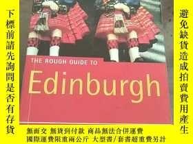 二手書博民逛書店The罕見Rough Guide to Edinburgh (3