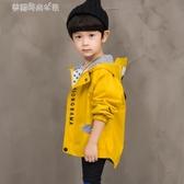 男童外套 男童春秋裝外套3潮寶寶童裝4洋氣5-6歲韓版帥氣7兒童風衣 夢露時尚女裝