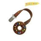 美國 Silli Chews 迷你巧克力甜甜圈夾帶咬牙器 SC-28[衛立兒生活館]