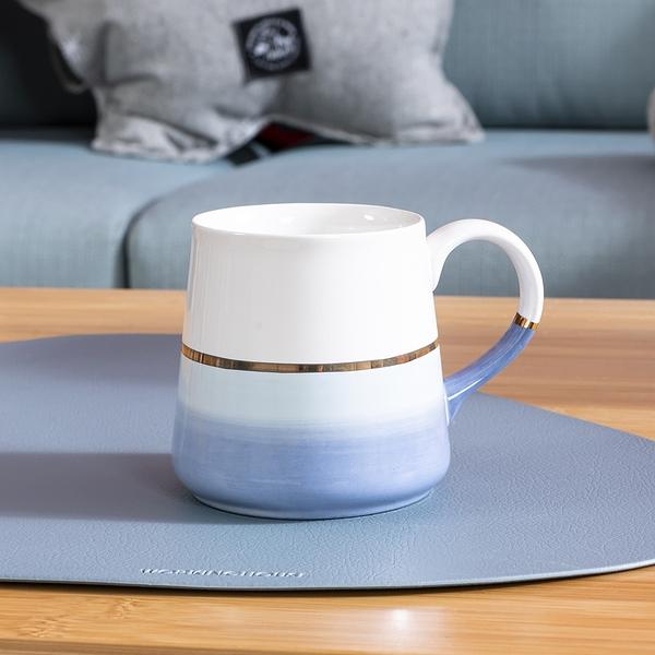 【微解封倒數8折】蘊韻微光馬克杯300ML-水藍-生活工場