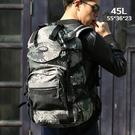 登山包 新款休閒後背包日韓男女戶外旅行背包45L60L多功能超大容量登山包 交換禮物