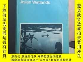 二手書博民逛書店A罕見Directory of Asian Wetlands 外