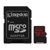 金士頓 記憶卡 【SDCR/256GB】 MICRO-SD XC 小卡 C10 UHS-I U3 256G 新風尚潮流
