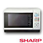 【夏普SHARP】 27L烘燒烤變頻微波爐 R-T28NC(W)