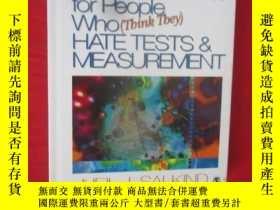 二手書博民逛書店Tests罕見& Measurement for People Who (Think They) Hate ( 1