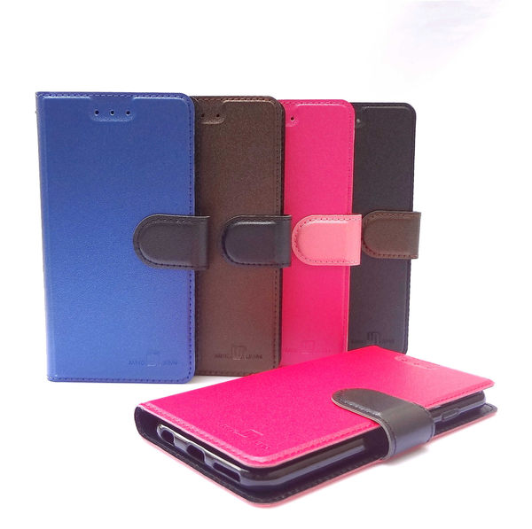 華碩 ASUS ZenFone 2 GO TV ZB551KL 5.5吋 雙色側掀站立皮套 保護套 手機套 手機殼 保護殼 x013DB