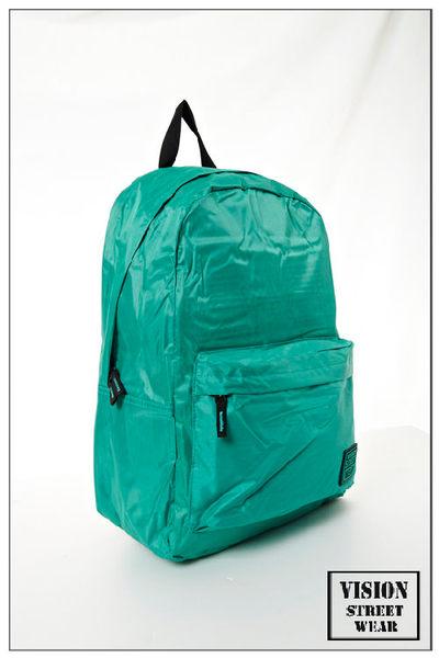 VISION STREET WEAR 潮牌時尚多色運動休閒雙肩後背包-- 綠-- VB2031G