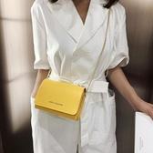 小方包夏季質感小包包女新款小清新時尚小方包百搭斜背錬條包 特惠上市