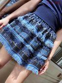 半身裙女氣質名媛亮片蛋糕裙A字裙短裙