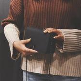女士背包小包包2019秋冬 正韓ulzzang鏈條小方包原宿單肩斜挎女包【快速出貨】