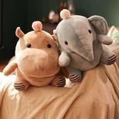 抱枕被子兩用兒童安撫枕頭汽車辦公室靠枕珊瑚絨空調午休枕毯子女
