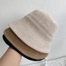 日本訂單亞麻漁夫帽遮陽帽可摺疊薄款夏季女士復古防曬日系帽子  一米陽光