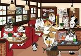 午茶時光   / 300P/ 不可思議的貓世界 KORIRI /繪畫/