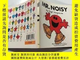 二手書博民逛書店英文原版繪本Mr.罕見Noisy吵鬧先生Y200392