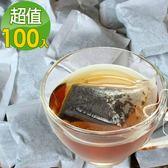 《簡單購》團購組100包(裸袋裝) 雲南老普洱生茶 同慶老貢末茶包(3.2g/包)