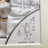 童裝17春夏款嬰兒新生兒內衣用品禮盒5件套 聖誕交換禮物