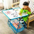 快速出貨-兒童畫板雙面磁性小黑板可升降畫架支架式家用白板塗鴉寶寶寫字板【限時八九折】