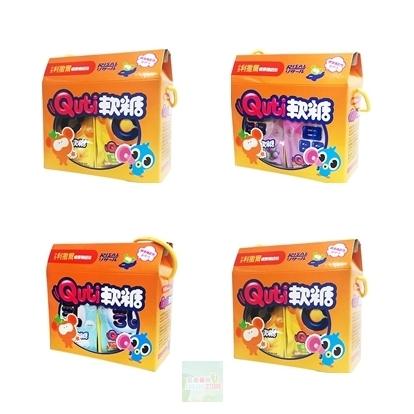 禮盒組12包【小兒利撒爾】Quti軟糖 活性乳酸菌/維他命C/晶明葉黃素/日本珊瑚鈣 4種可選擇